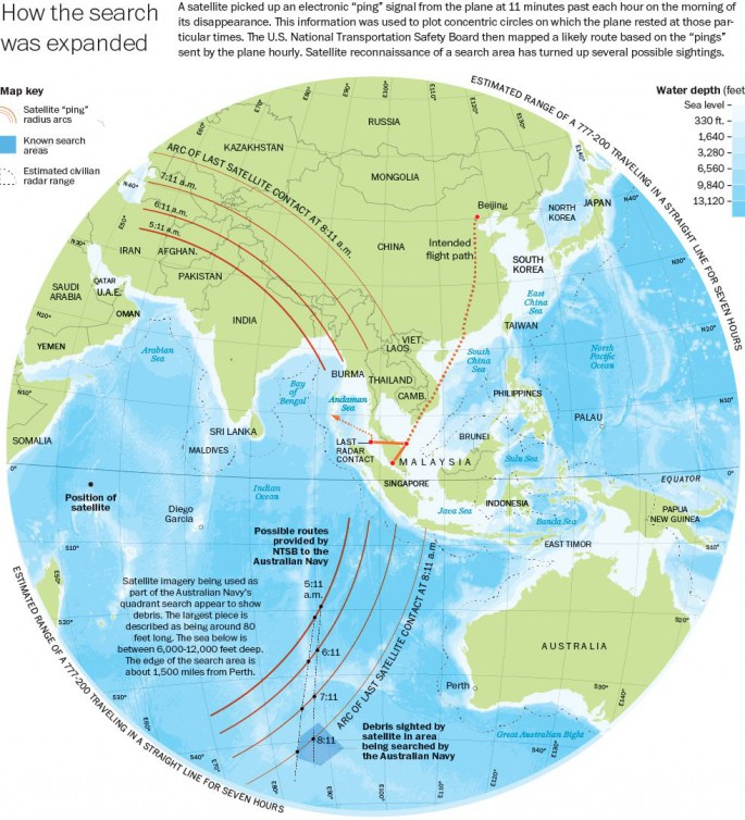 Search MH370 WaPo
