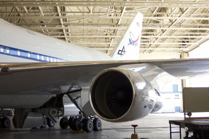 747SP SOFIA