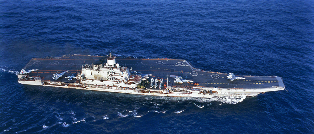 russian aircraft carrier in the vicinity royal netherlands navy had no ships to dispatch