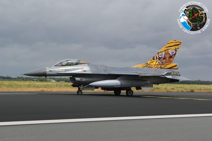 F-16 31 Sqn