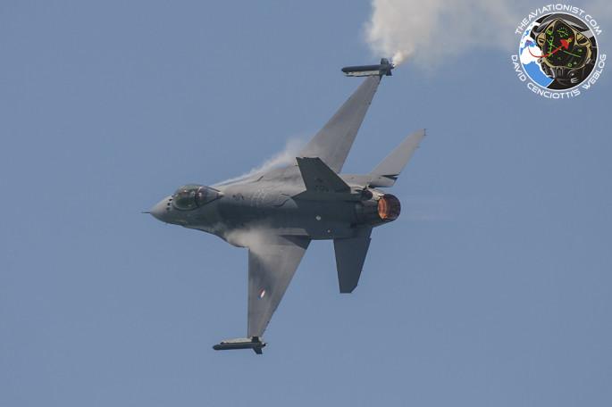 F-16 RNlAF demo
