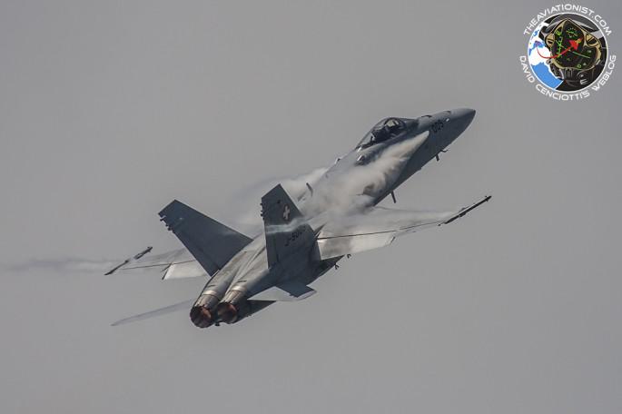 F-18 SAF