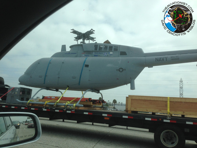 MQ-8C on the road