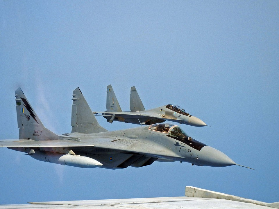 The Aviationist » Air-to-Air Images of Mig-29N Fulcrum and ...