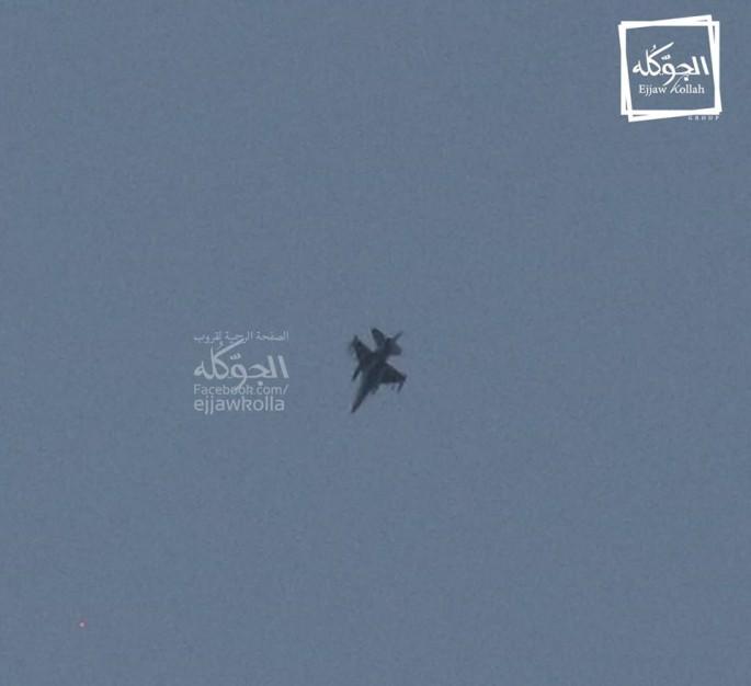 F-16 over Libya