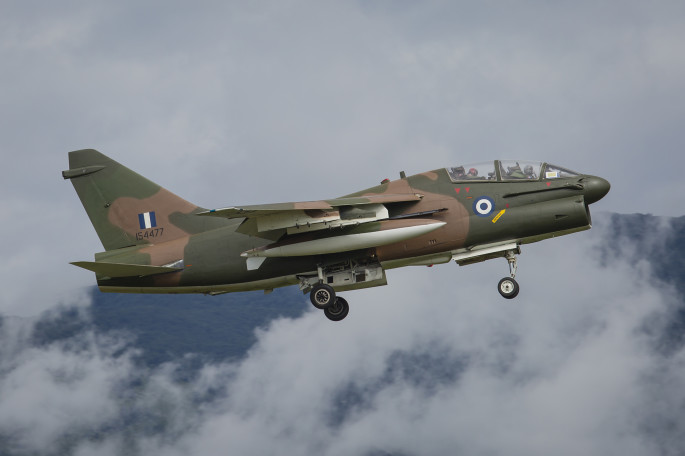 TA-7 Camo Aviano Jul 2014