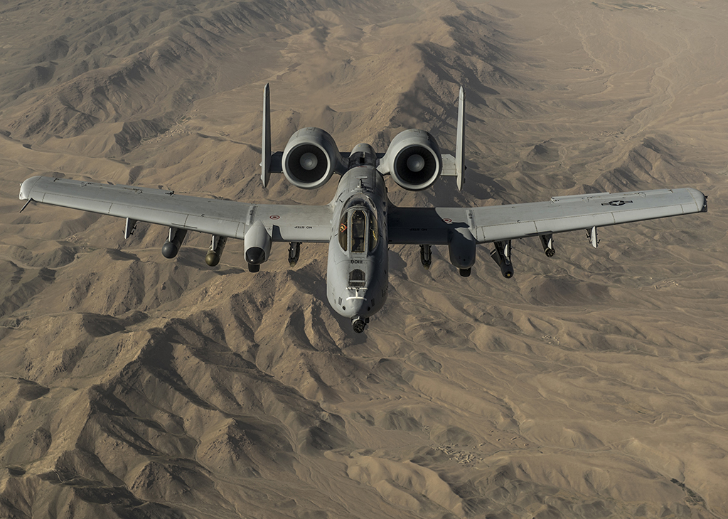 The Aviationist » [Photo] U.S. A-10 Warthogs during aerial refueling over Afghanistan