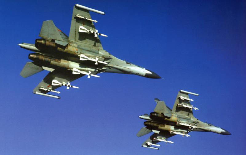Intercepción Aérea PLAAF-Su-27