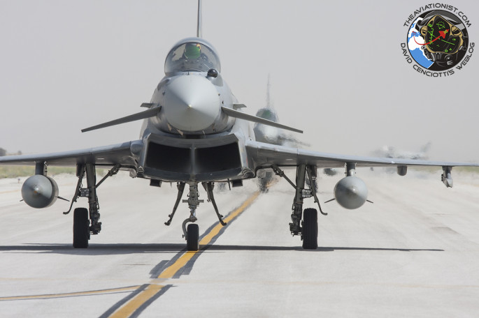Typhoons lined up