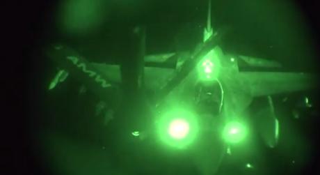 F-16 AAR ISIS strike