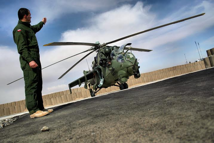 mi 24 hind helicopter gunship with Poland New Attack Choppers on Mil mi 24 together with Indian Air Forces Mil Mi 35 Hind E in addition  additionally South Africas Ate Super Hind Mi 35 additionally .