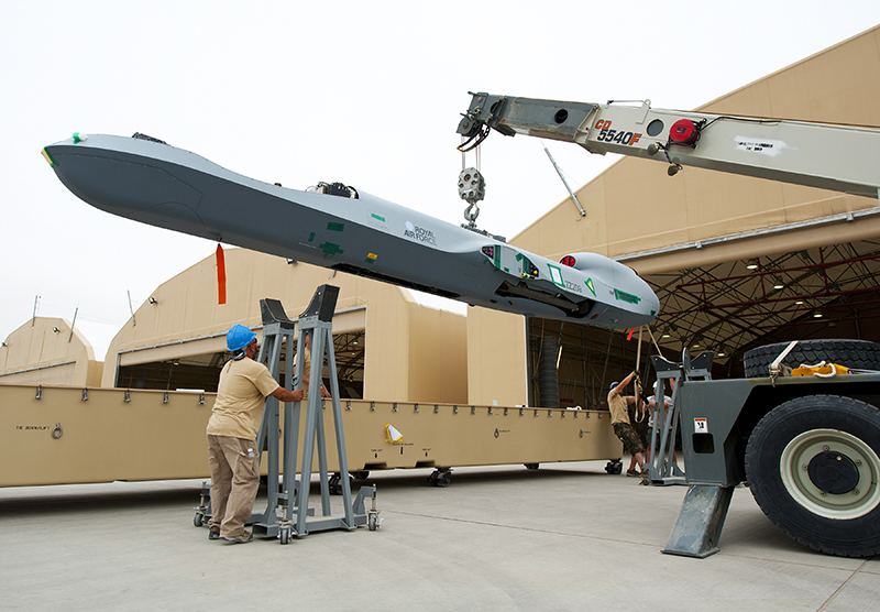 The Aviationist This Is How A Reaper Drone Deployed To