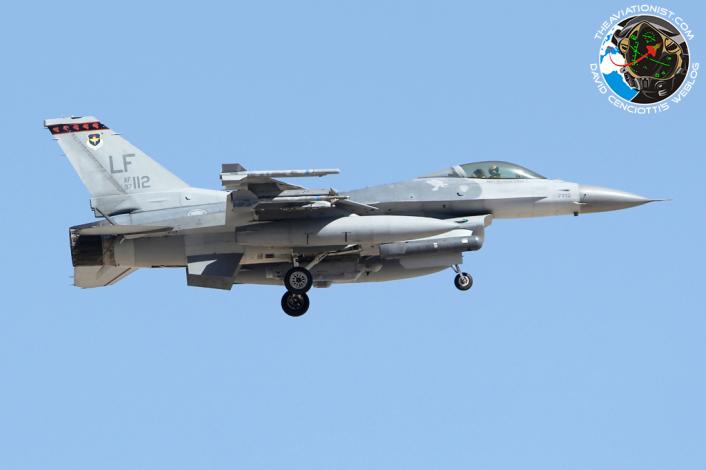F-16C. 97-0112:LF. 425 FS. Rep Singapore AF