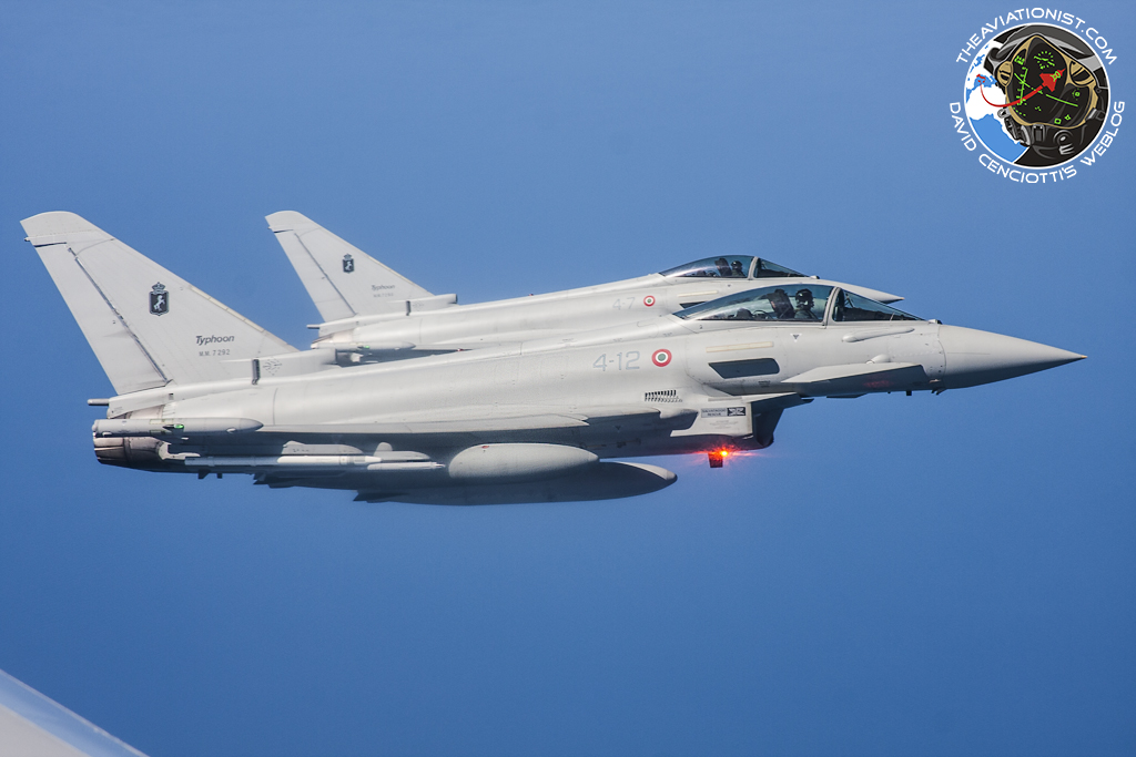 Intercepción Aérea Typhoon-intercept