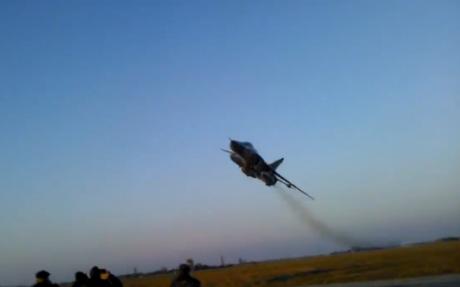 Su-24 low pass