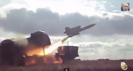 Tu-143 fired