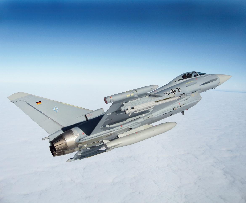 Intercepción Aérea Typhoon-Alitalia