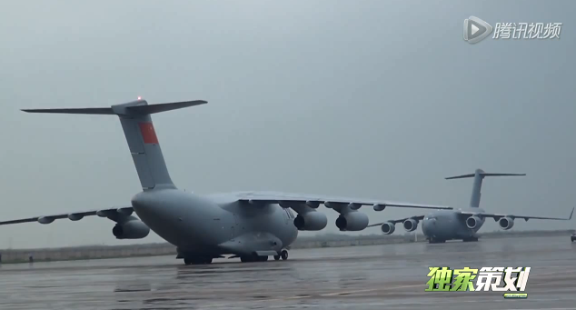 The Aviationist » China's new Y-20 cargo plane (that looks ...