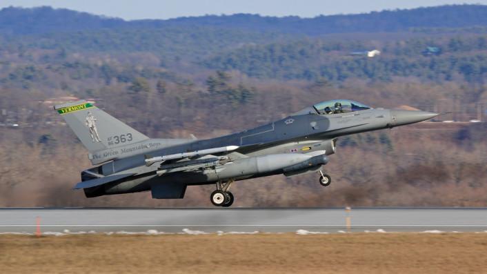 F-16 Vermont side