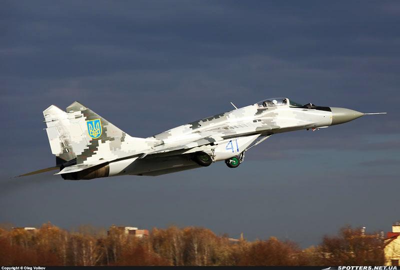 Украинские МиГ-29 получают