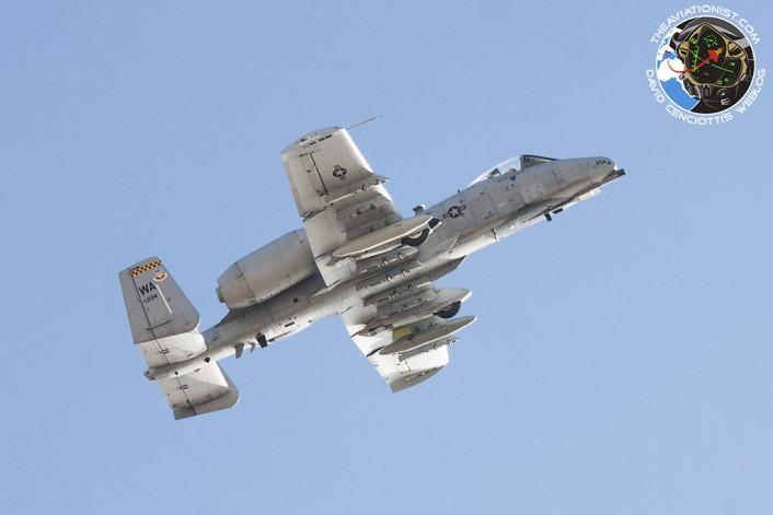 A-10 takeoff