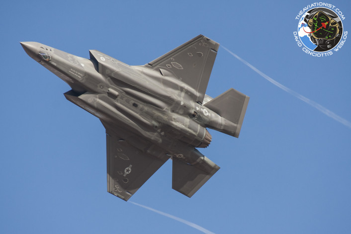F-35 number 2 belly view