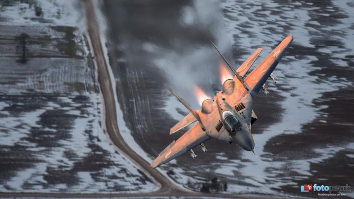 Mig-29 afterburners