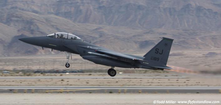 F-15E SJ take off