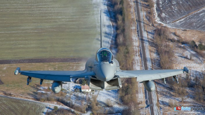 Typhoon front view