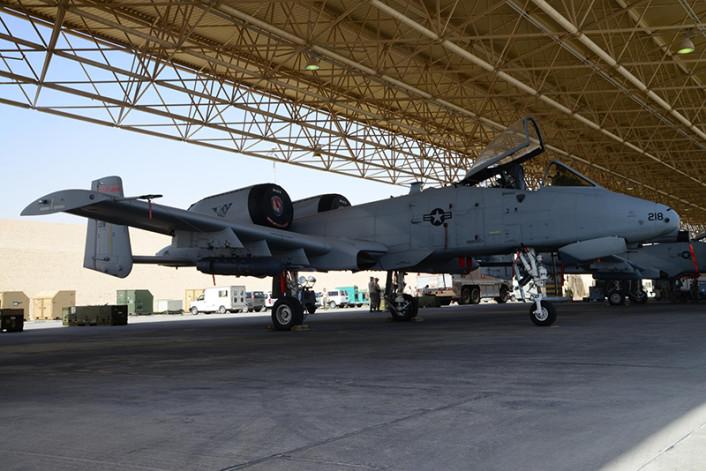 A-10 Al Udeid