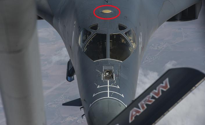 34th EBS B-1B refuels over Syria