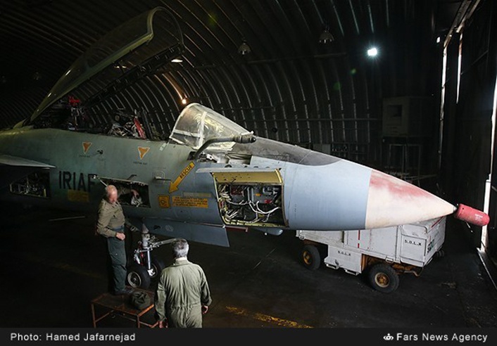 Os últimos F-14 do Irão