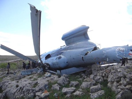 Mi-14 crashed