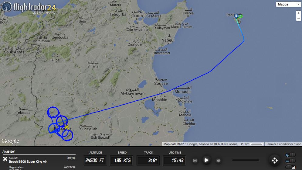Here S Where A U S Spyplane Sought Terrorists Behind Bardo Museum Attack In Tunisia