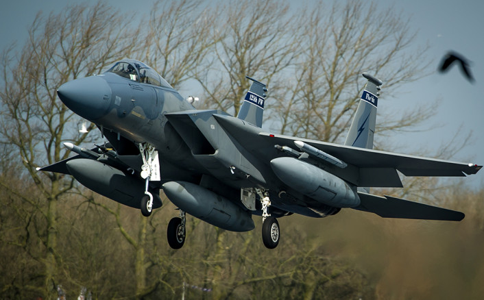 F-15C Theater Security Package Arrives in Europe