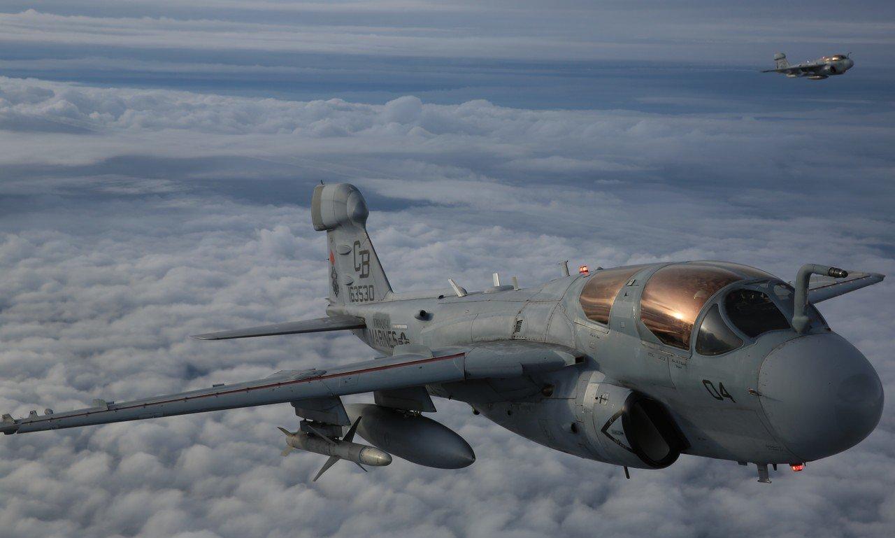 The Aviationist » Stunning images of U.S. Marine Corps EA ...