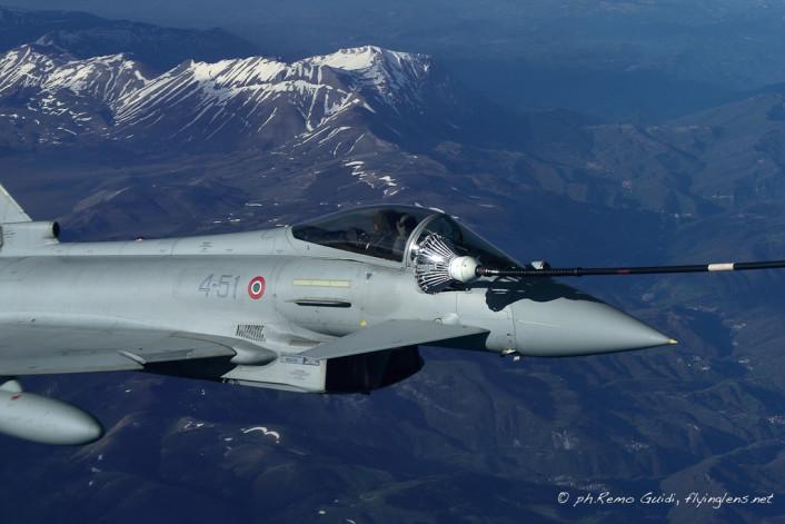 Typhoon refuel close up