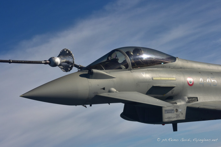 Typhoon refuel close up right