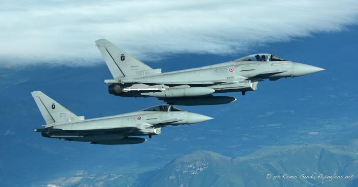 Typhoon refuel formation