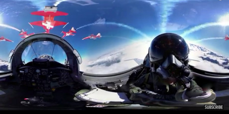 360° video Patrouille Suisse