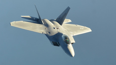 F-22 ISIL Mission
