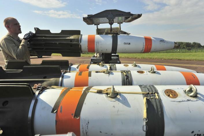 Inert mine in B-52