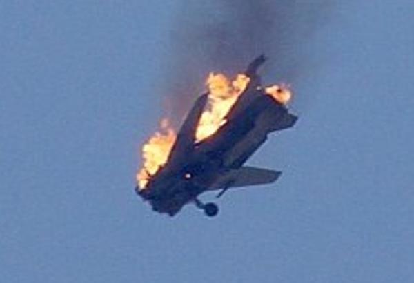 Sukhoi 24 derribado en Siria SyAAF-Su-24-downed