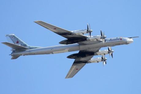 Tu-95 Bear take off image