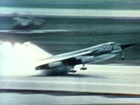 B-58 emergency landing in 1961 top