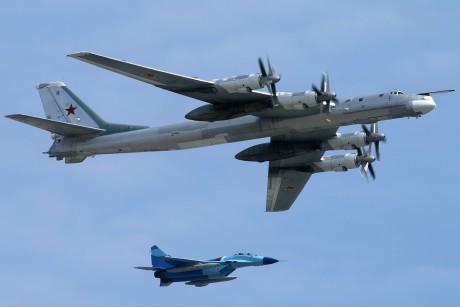 Tu-95 crashed