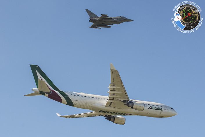 Alitalia +Typhoon