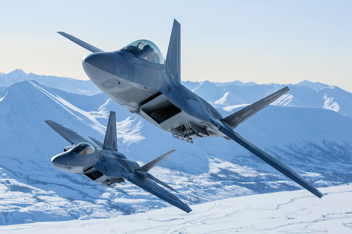 All Types f 22 raptor specs : The Aviationist » These are probably the best F-22 Raptor air-to ...
