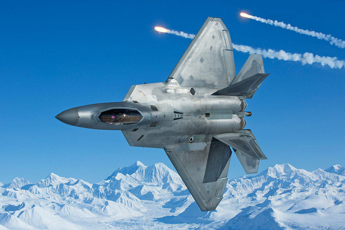 ... are probably the best F-22 Raptor air-to-air images we have ever seen
