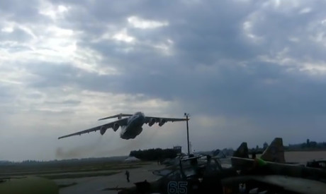 Il-76MD low pass